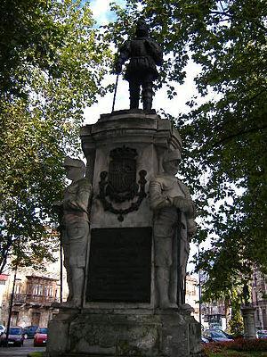 Pedro Menéndez de Avilés - Monument to Pedro Menéndez in Avilés, Spain