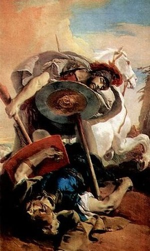 Eteocle e Polinice - Tiepolo's depiction of Eteocles and Polynices, the opera's protagonists