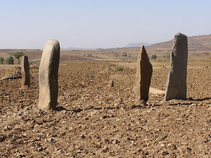 Champ de stèles de Gudit près d'Aksoum - Éthiopie