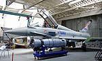 Eurofighter Typhoon two seat prototype, Imperial War Museum, Duxford, May 19th 2018. (28511398577).jpg