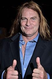 Evan Stone at the EXXXotica Expo in Chicago, Illinois on Jue 23, 2017