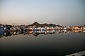 Evening lights around the Pushkar Lake.jpg
