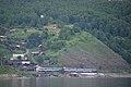 Excursion train of Circum-Baikal railway- ED9MK-0029 EMU under TEM2-6550 (31462550173).jpg