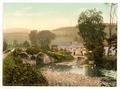 Exmoor, Malmsmead Inn and bridge, Doone Valley, Lynton and Lynmouth, England-LCCN2002697011.tif