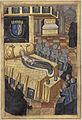 Exposition du corps d'Anne de Bretagne dans la grande salle du château de Blois.jpg