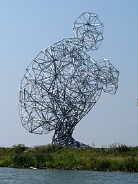 Exposure of Antony Gormley by Herman Verheij at Lelystad.jpg