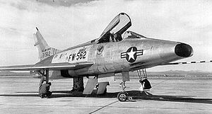 434th Fighter Training Squadron - Image: F 100a 53 1562 434thfds
