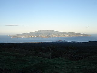 Faial Island Portuguese island of the Central Group of the Azores