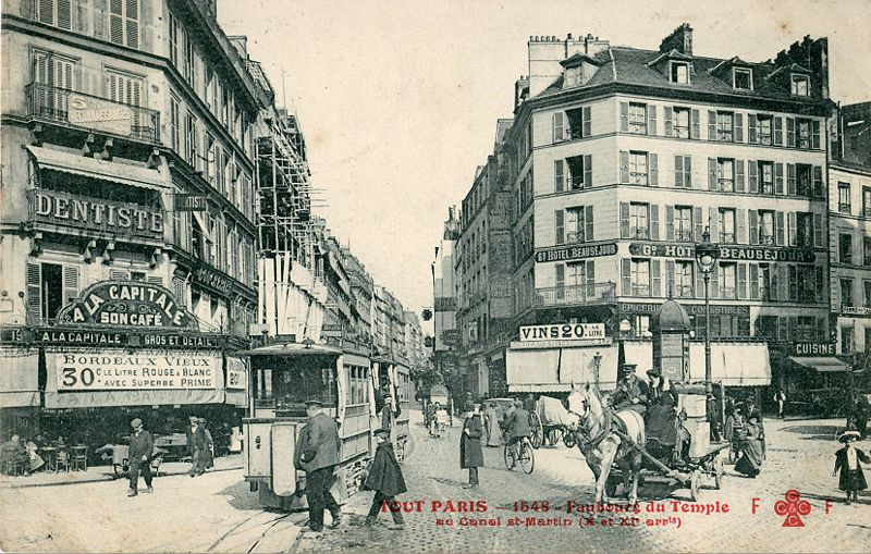 Hotel Rue Lecourbe  Paris