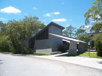 New Smyrna Beach, Florida - Atlantic Center for the Arts: Pabst Visitor Center and Gallery