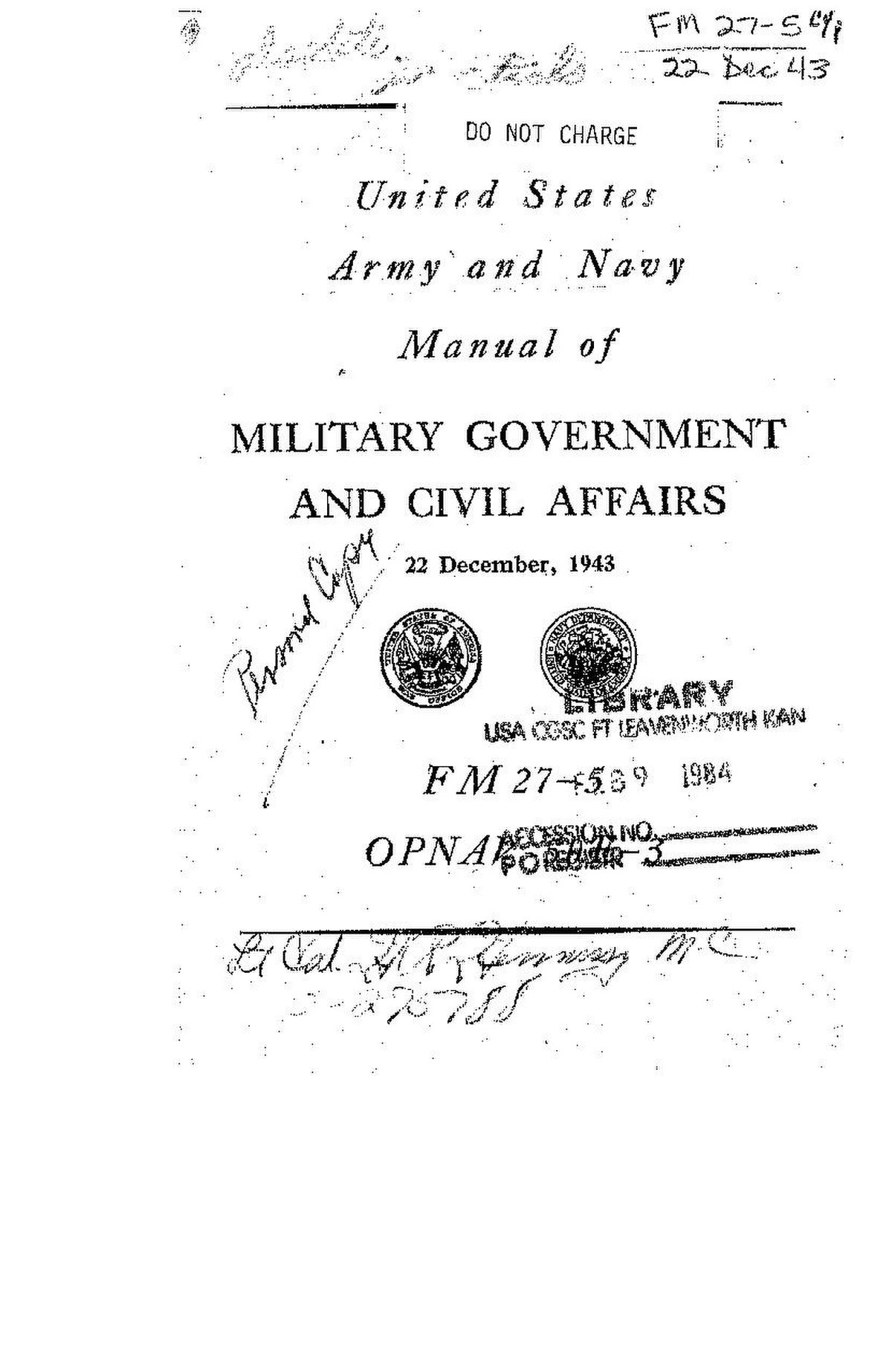 File:FM 27-5 - OPNAV 50E-3 United States Army and Navy Manual of ...