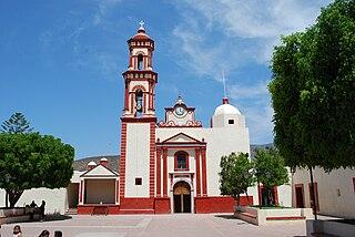 Peñamiller Town in Querétaro, Mexico