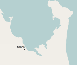 Location of Fagal