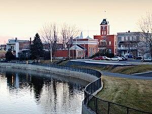 Farnham, Quebec - Farnham Town Hall.
