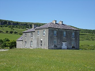 Father Ted - The farmhouse in the Burren northeast of Kilnaboy which was used for external shots of the parochial house (pictured in 2016)