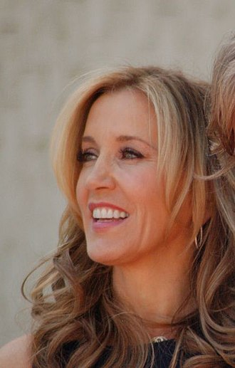 Felicity Huffman - Huffman at a ceremony to receive a star on the Hollywood Walk of Fame in March 2012.