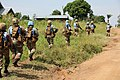 Female combat troops of South African Contingent in MONUSCO on robust foot and moblile patrols 63.jpg
