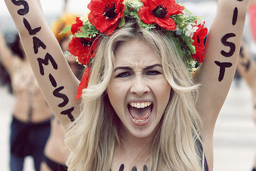 FEMEN | By Joseph Paris (Own work) [FAL], via Wikimedia Commons