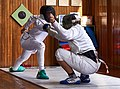 Fencing. Épée. Haris Levantides and Alexandros Kanellis.jpg