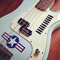 Fender Precision Bass - The Precision Bomber bass. #pbass #fender (2014-03-08 by irish10567).jpg
