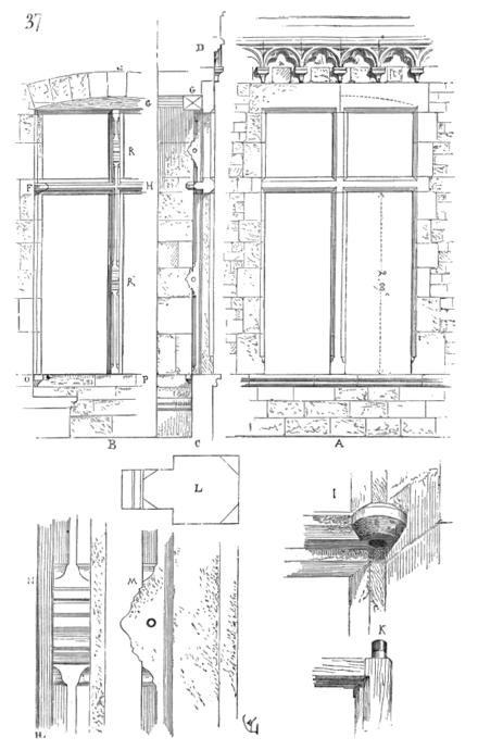 Dictionnaire raisonn de l architecture fran aise du xie for Fenetre maison