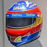 Fernando Alonso 2000 helmet front-left 2017 Museo Fernando Alonso.jpg