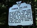 Ferrum College Historic Marker.JPG