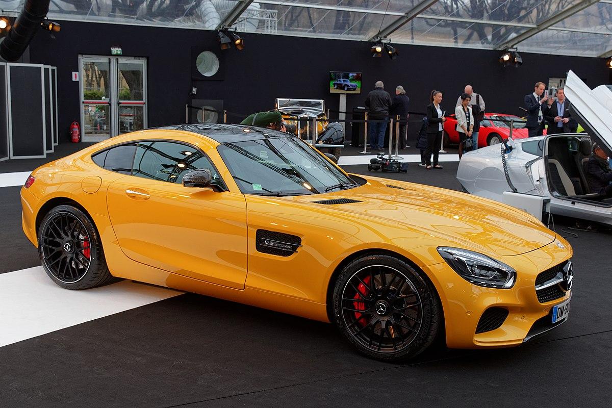 Mercedes-AMG GT — Wikipédia