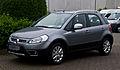 Fiat Sedici 1.6 16V Easy (2. Facelift) – Frontansicht, 17. Mai 2013, Münster.jpg