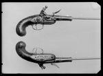 Fickpistol med flintlås, bröderna Rundberg, Paris ca 1750 - Livrustkammaren - 51692.tif