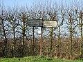 Finger post on junction of Grove Road. - geograph.org.uk - 317660.jpg