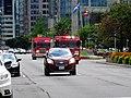 Fire truck, on University, 2017 08 18 -a (36728072235).jpg