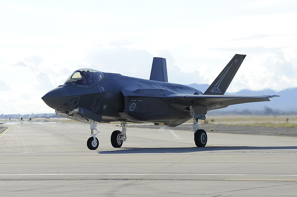 First Australian F-35A at Luke AFB in December 2014