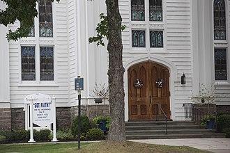 Southampton (village), New York - First Presbyterian Church - Southampton Village on Main St.