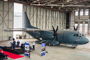 No. 35 Squadron RAAF - First RAAF Alenia C-27J Spartan arrives at RAAF Base Richmond for No. 35 Squadron, 2015
