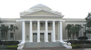 Government of Florida - The Florida Supreme Court building in Tallahassee