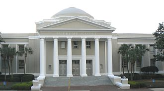 Florida State Courts System - The Florida Supreme Court building.
