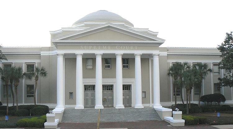 Florida Supreme Court Building, Tallahassee, Florida