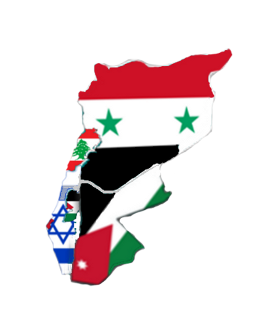 Flag-map of Levant2