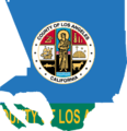 Flag map of Los Angeles County, California (1967-2004).png