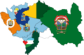 Flag map of provinces of Junin.png