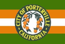 Flag of Porterville, California.png