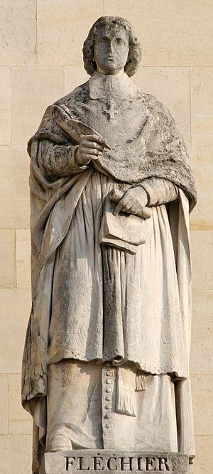 Esprit Fléchier - Statue of Esprit Fléchier by François Lanno, in the Cour Napoléon of the Louvre.