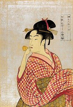喜多川歌麿的美人画