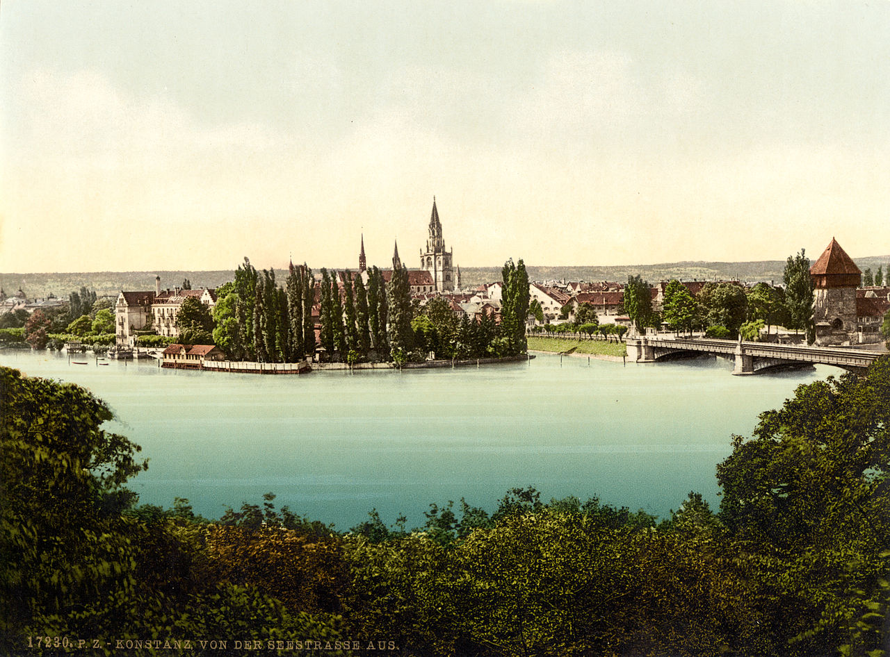Constance Germany  city photos : ... from Seestrasse, Constance, Germany, ca. 1895 Wikimedia Commons