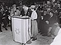 Flickr - Government Press Office (GPO) - The foundation ceremony of the Hebrew University Medical School in Jerusalem.jpg