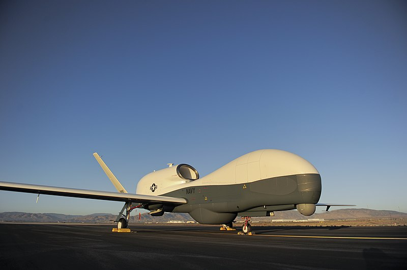 File:Flickr - Official U.S. Navy Imagery - In this undated file photo, an RQ-4 Global Hawk unmanned aerial vehicle sits on a flight line..jpg