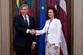 Flickr - Saeima - Solvita Āboltiņa tiekas ar Lietuvas Republikas ārlietu ministru (2).jpg