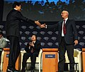 Flickr - World Economic Forum - Deren, Schwab - Annual Meeting of the New Champions Tianjin 2008.jpg