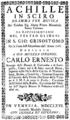 Florian Leopold Gassmann - Achille in Sciro - titlepage of the libretto - Venice 1766.png